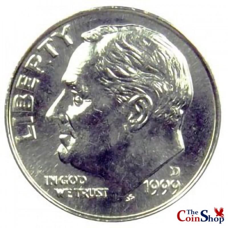 1999-D Roosevelt Dime