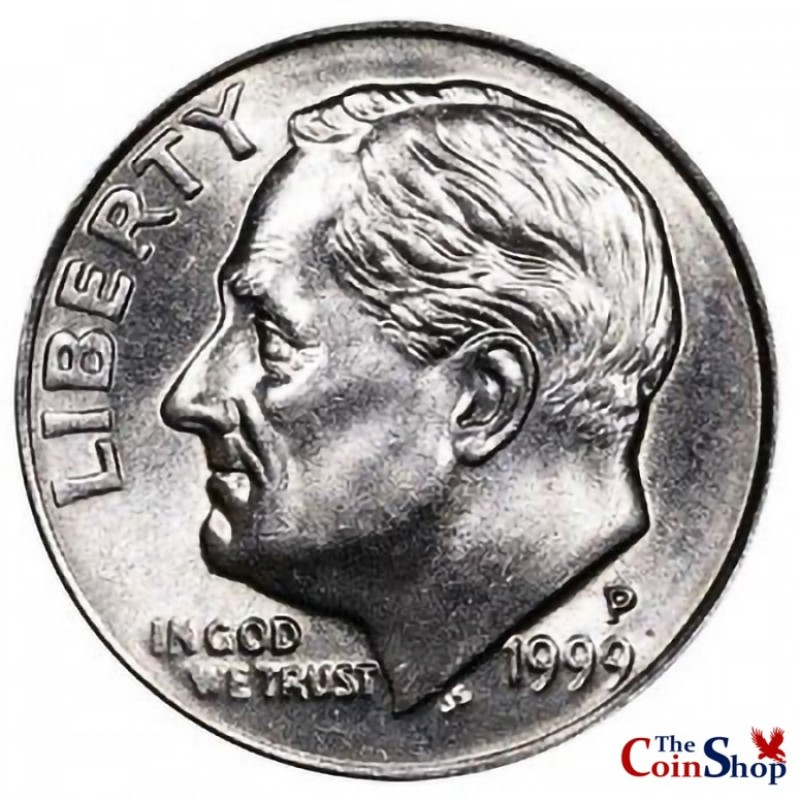 1999-P Roosevelt Dime