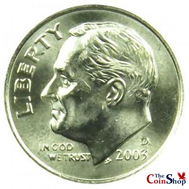 2003-D Roosevelt Dime