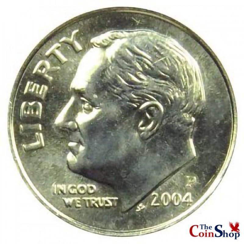 2004-P Roosevelt Dime