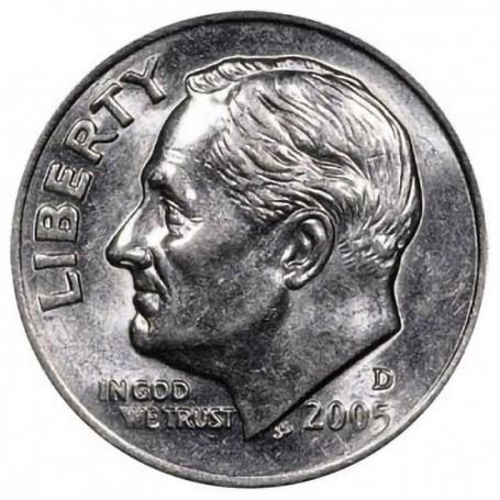 2005-D Roosevelt Dime