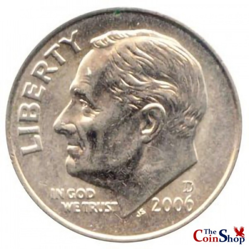 2006-D Roosevelt Dime