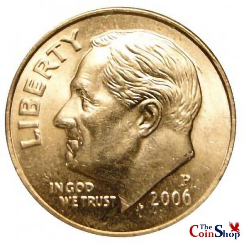 2006-P Roosevelt Dime