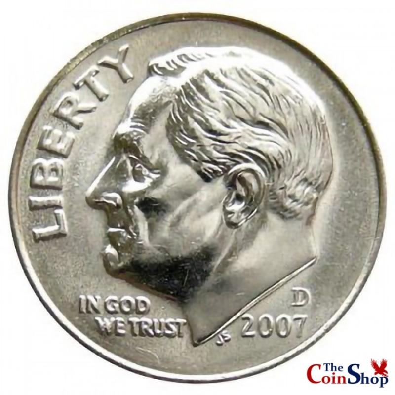 2007-D Roosevelt Dime