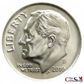 2010-D Roosevelt Dime