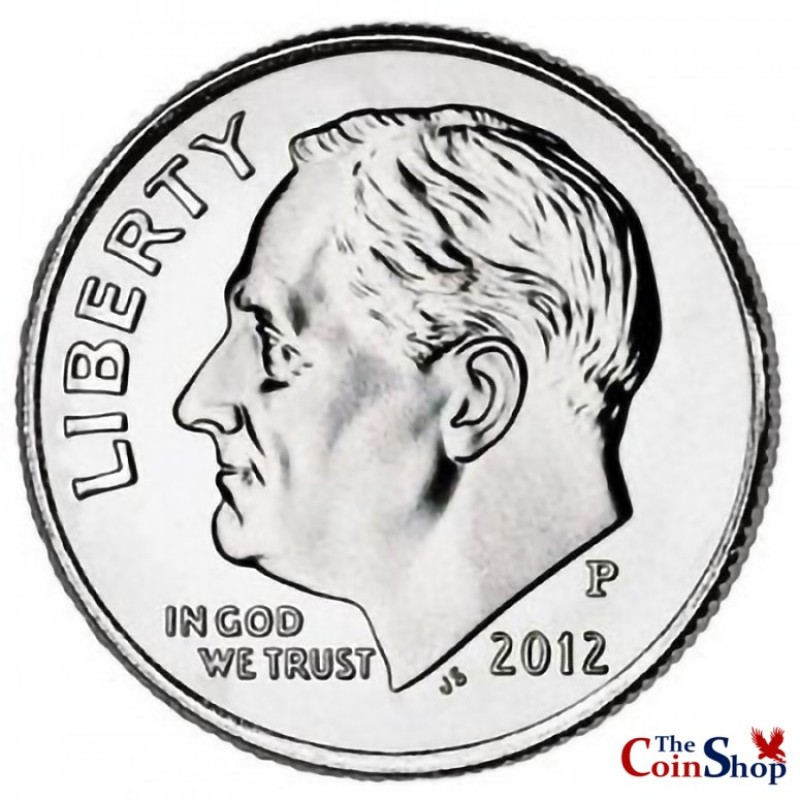 2012-P Roosevelt Dime