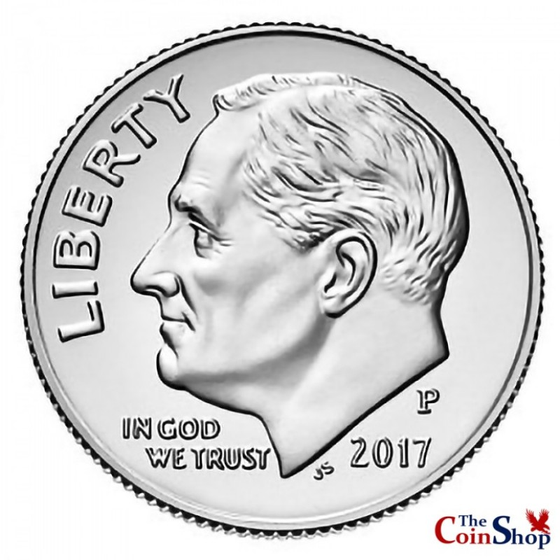 2017-P Roosevelt Dime
