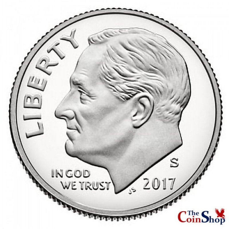 2017-S Roosevelt Dime