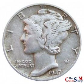 1927-P Mercury Dime