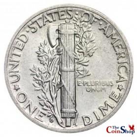 1928-D Mercury Dime