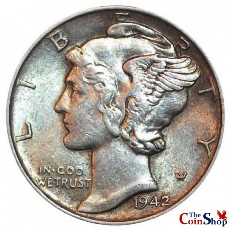 1942-P Mercury Dime