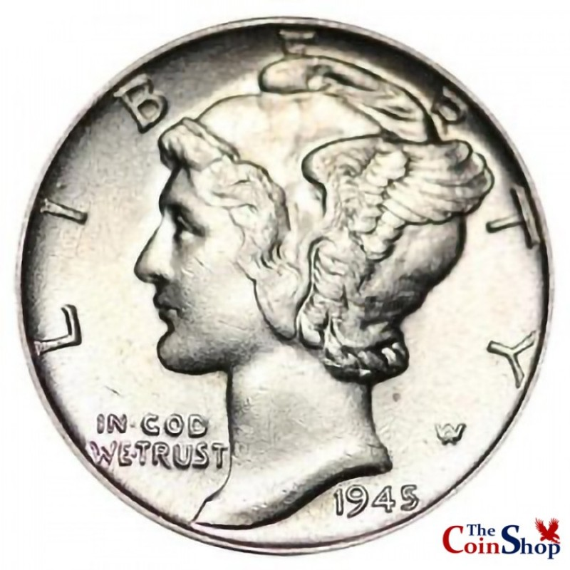 1945-P Mercury Dime