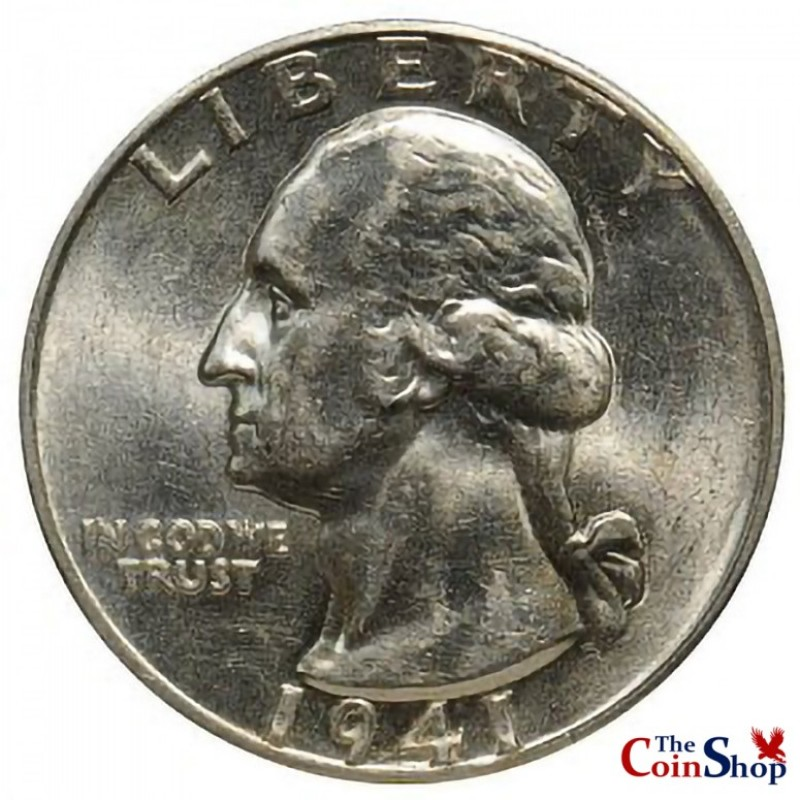 1941-D Washington Quarter