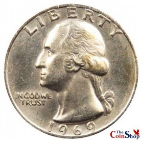 1969-P Washington Quarter
