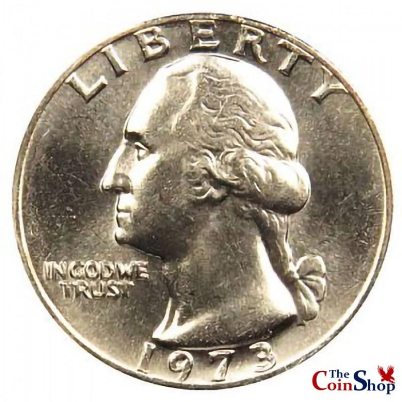 1973-P Washington Quarter