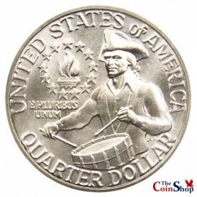 1976-S Silver Clad Washington Quarter