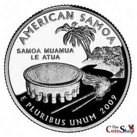 2009-S American Samoa Proof Quarter