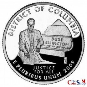 2009-S District of Columbia Silver Quarter Proof