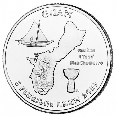2009-D Guam Quarter