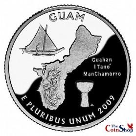 2009-S Guam Proof Quarter