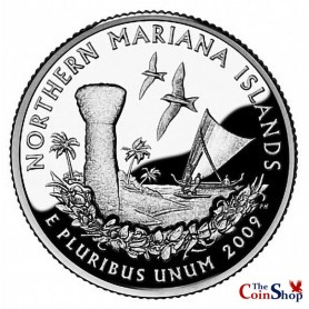 2009-S Northern Mariana Islands Proof Quarter
