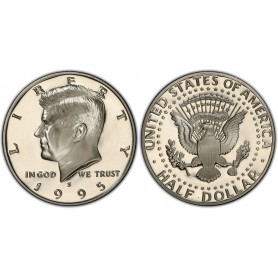 1995-S Kennedy Half Dollar Proof