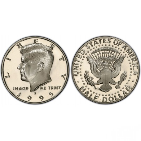 1995-S Kennedy Half Dollar Proof
