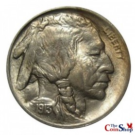 1913-P Var. 1 Buffalo Nickel