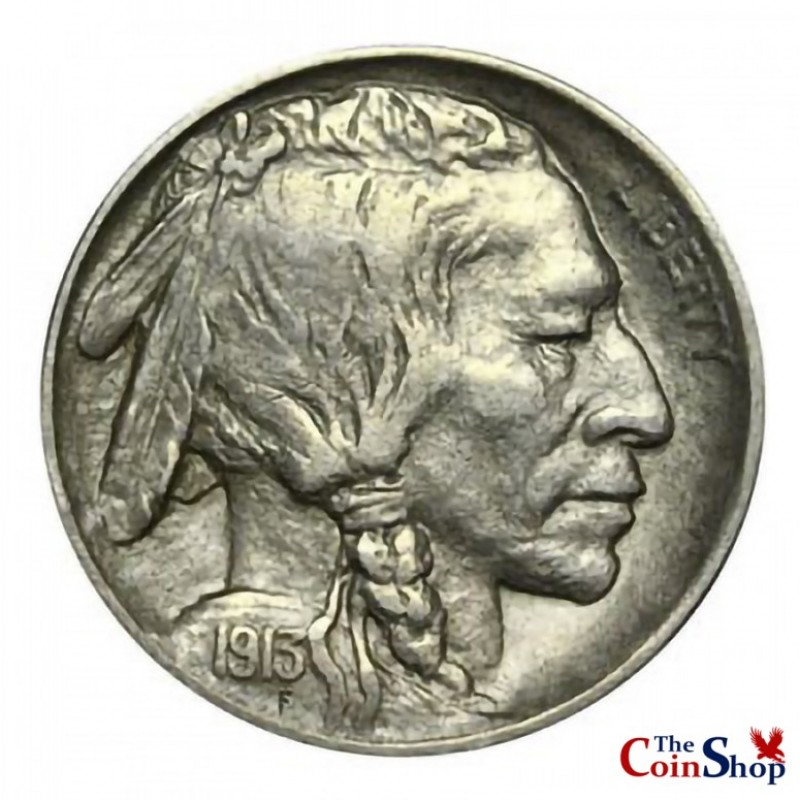 1913-D Var. 1 Buffalo Nickel