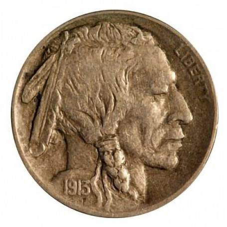 1913-S Var. 1 Buffalo Nickel
