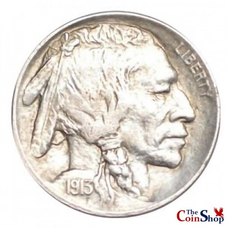 1913-P Var. 2 Buffalo Nickel