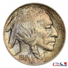 1914-P Buffalo Nickel