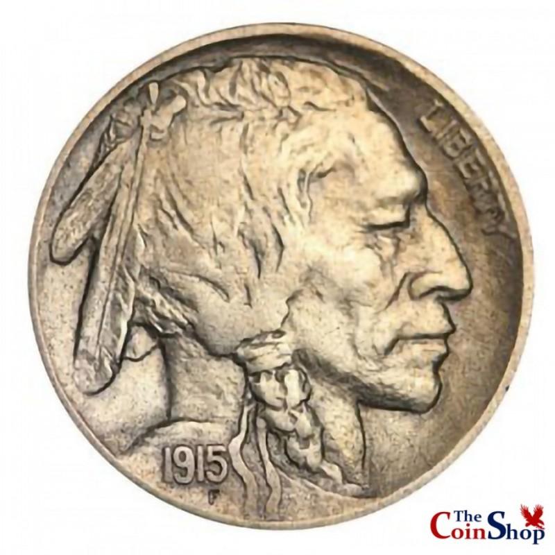 1915-D Buffalo Nickel