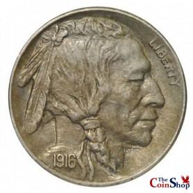 1916-S Buffalo Nickel