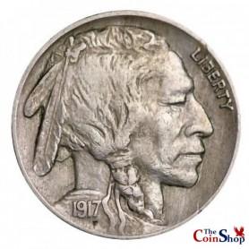 1917-P Buffalo Nickel