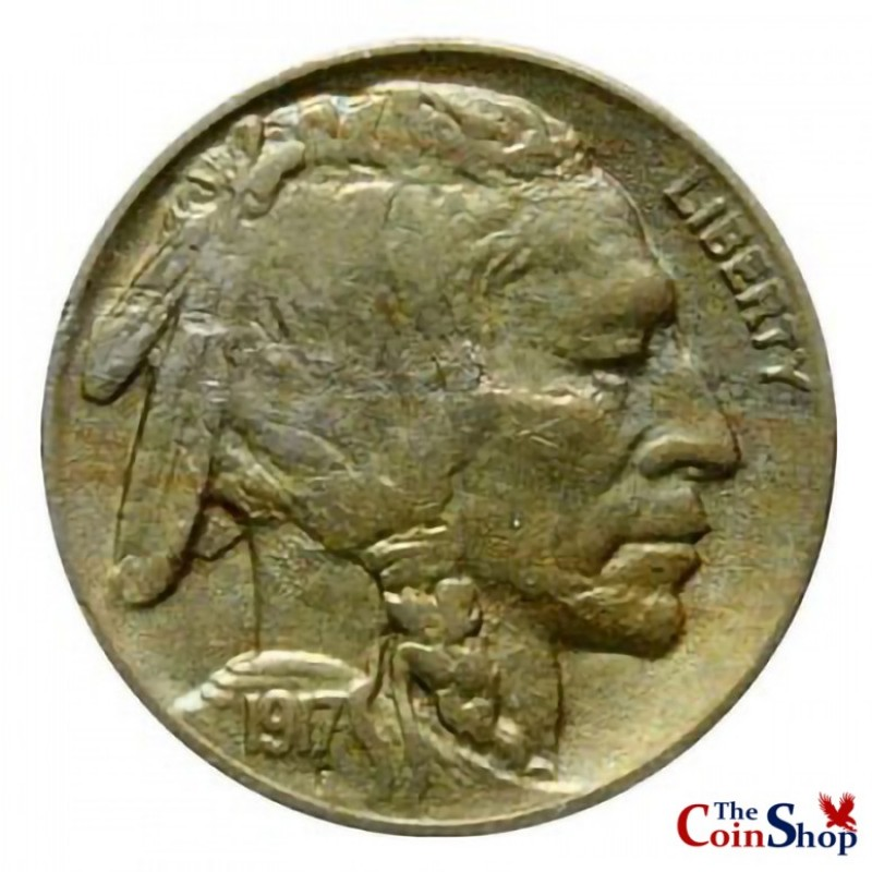 1917-D Buffalo Nickel