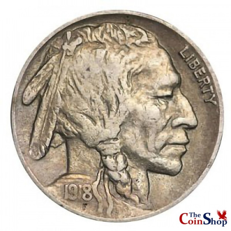 1918-P Buffalo Nickel
