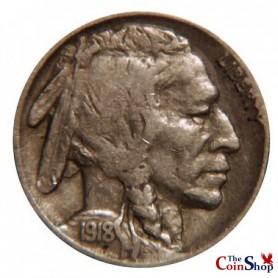 1918-S Buffalo Nickel