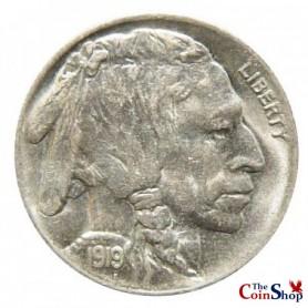 1919-P Buffalo Nickel