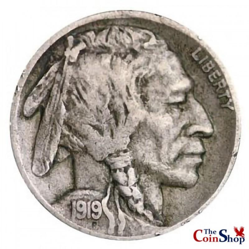 1919-D Buffalo Nickel