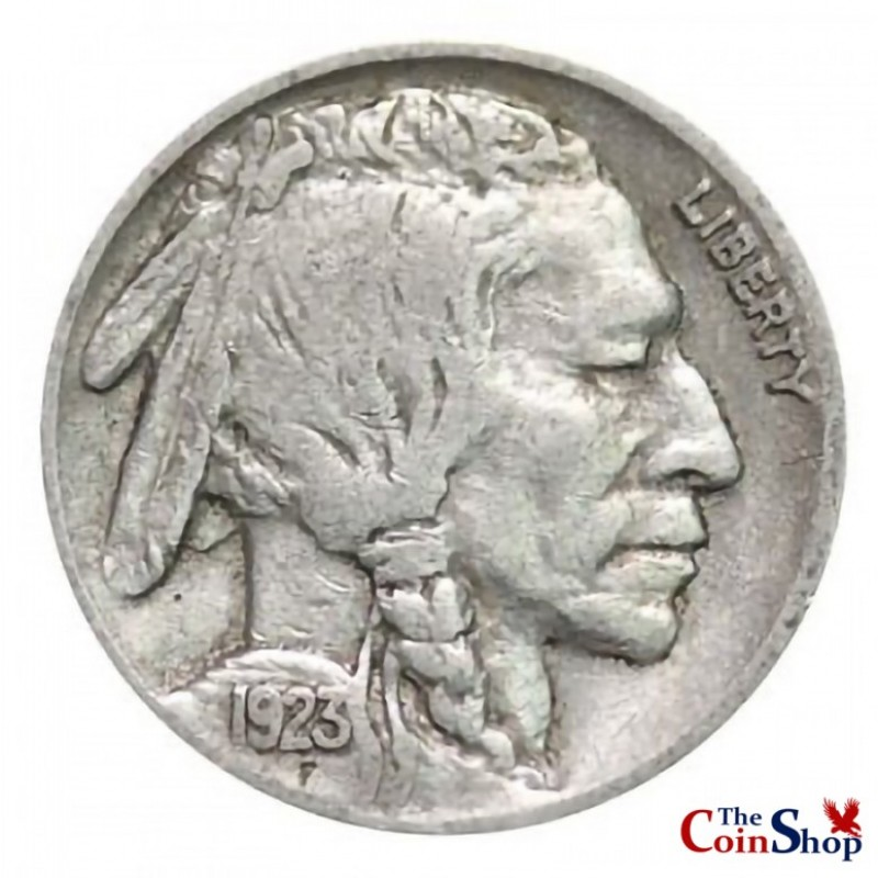 1923-P Buffalo Nickel
