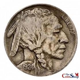 1924-P Buffalo Nickel