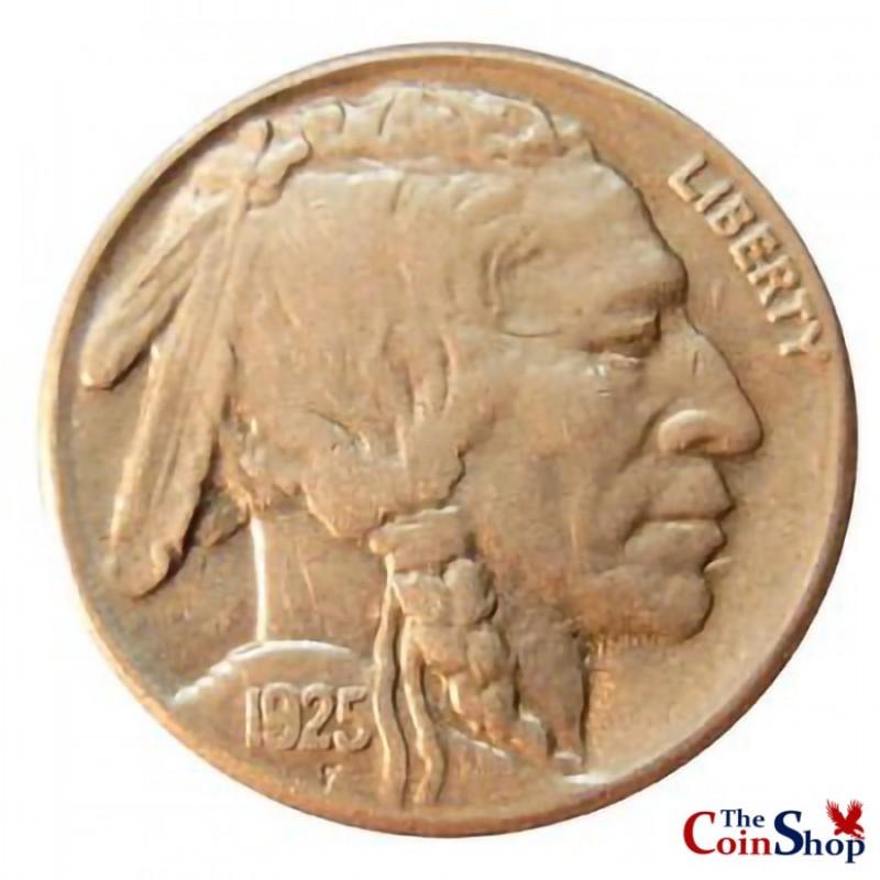 1925-S Buffalo Nickel