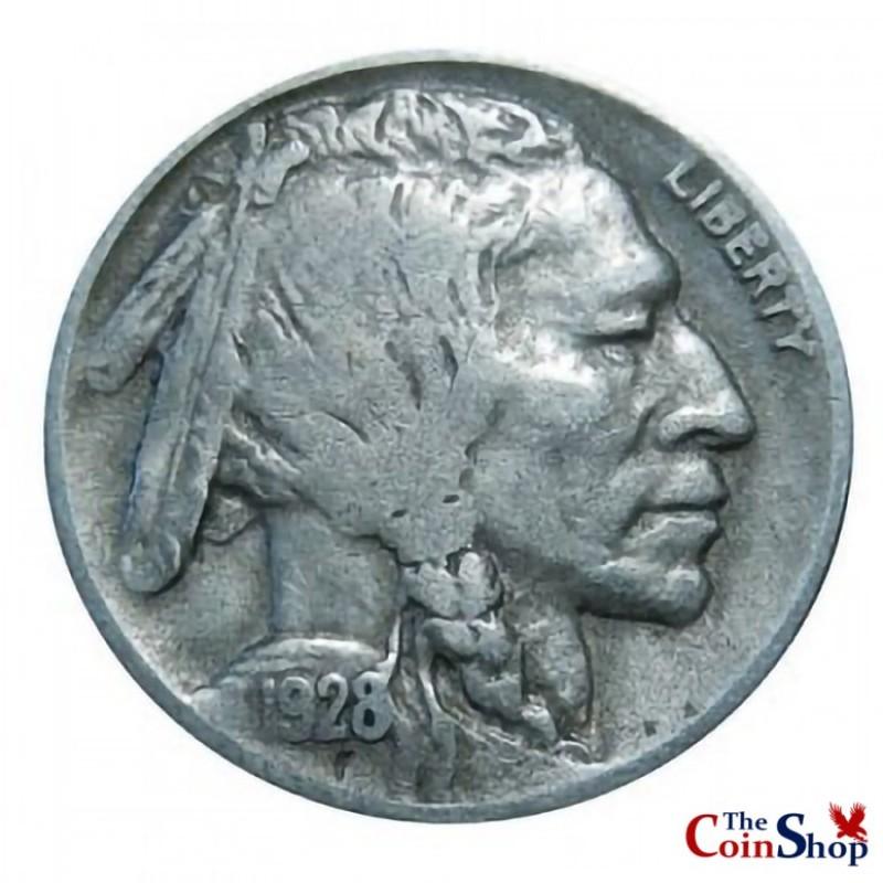 1928-D Buffalo Nickel