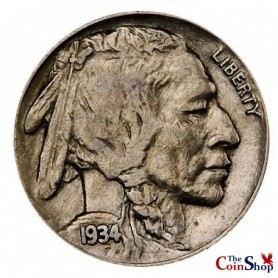 1934-P Buffalo Nickel