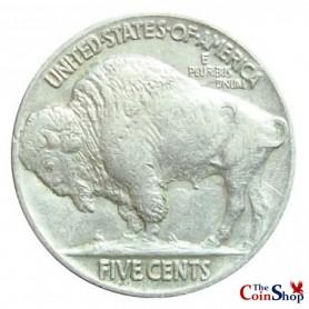 1937-P Buffalo Nickel
