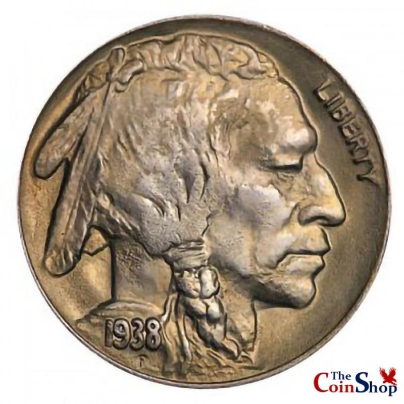1938-D Buffalo Nickel