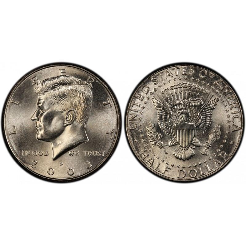 2003-D Kennedy Half Dollar