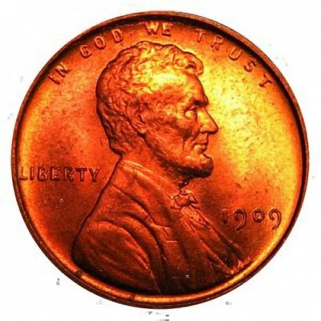 GREAT PRICE! VERY GOOD 1909-P LINCOLN CENT
