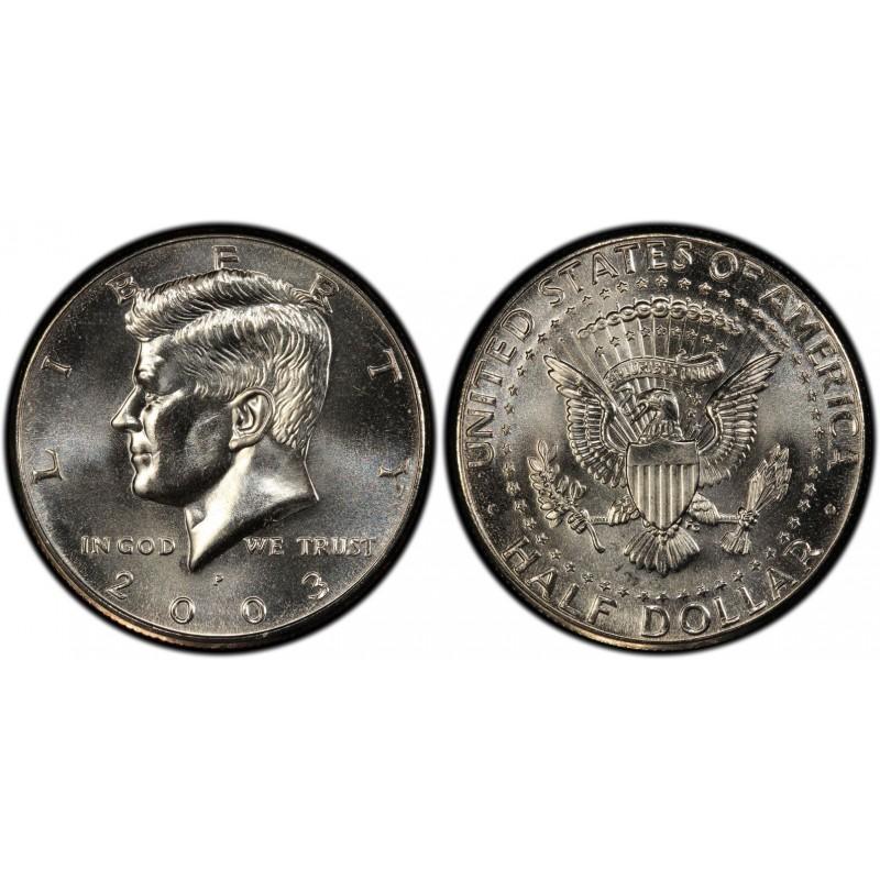 2003-P Kennedy Half Dollar